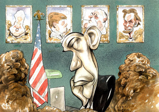 Obama\'s First Year, Steve Brodner