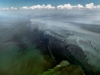 Oil Spill #13, Mississippi Delta, June 24, 2010, Edward Burtynsky