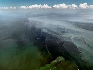 Oil Spill #13, Mississippi Delta, June 24, 2010, Edward Burtynsky
