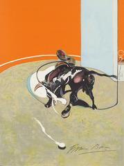 Study for Bullfight no.2, Francis Bacon