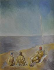 Unknown (Soldiers on Beach), Sidney Bronstein