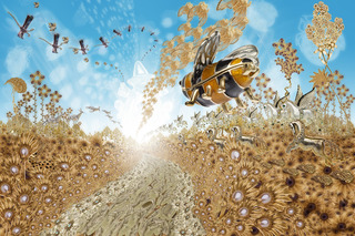 Little Bee Travels to the Beautiful Bright Glow, JT Burke