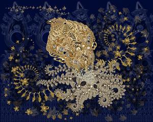 Beautiful Octopus in Her Swirling World, JT Burke