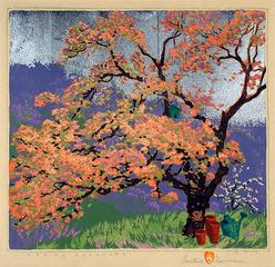 Spring Blossom, Gustave Baumann
