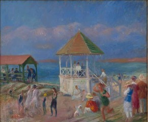 The Bandstand,William Glackens