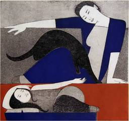 The Blue Robe, Will Barnet