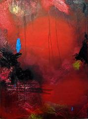 Untitled: Red & Blue, Jennifer Shimatsu