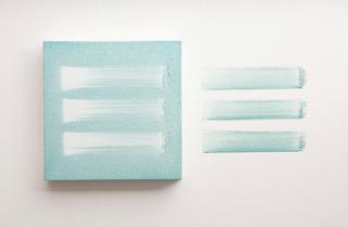 Three Marks/ Wall Painting , Onya McCausland