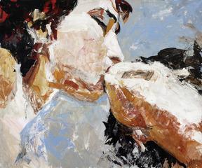 The Kiss, Daria Bagrintseva