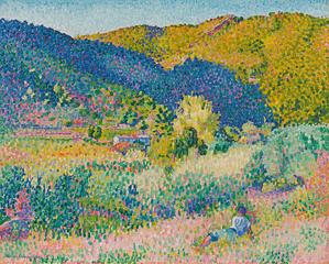 Paysage de la Chaine des Maures, henri-edmond cross