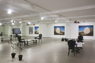 \'Heel Gezellig\' installation view, Matthew Day Jackson