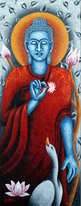 20111029133610-code___fg_49_size___16x40_inch_name___lord_buddha_mudeim_-_acrylic_on_canvas_price-rs_40_000__inr_