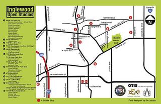 Map, Inglewood Artists