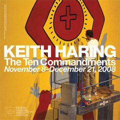 The Ten Commandments (poster), Keith Haring