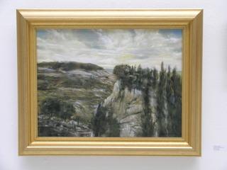 Wooden Landscape, Charles Magistro