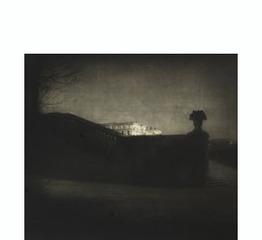 Nocturne - Orangery Staircase, Versailles, Edward Steichen