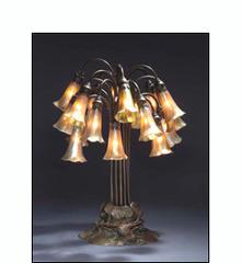 Pond Lily lamp, Tiffany Studios