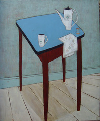 Blue Table, Jo Oakley