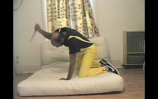 Untitled (futon) (video still), Rodney McMillian