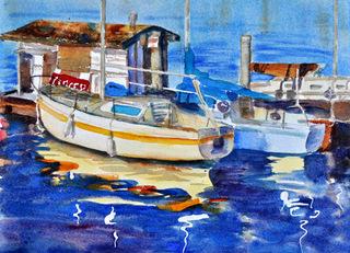 Reflections of Marina del Rey, Jan Godachy
