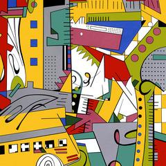 Urban Abstract III, Michele Bonelli