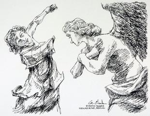 Ecstatic Angel, George C Clark