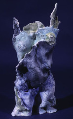 Blue Winged Sole Angel, Sharon Bladholm