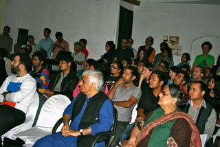 Audience at Psychoanalysis and the Arts in India,