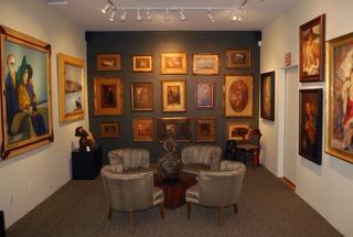 Trigg Ison Fine Art  -  Gallery Interior,