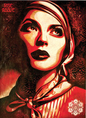Rise Above Rebel,Shepard Fairey
