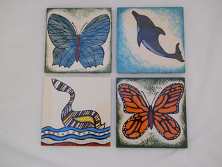 Painted Tiles, Edie Pfeifer
