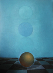 Ball with Four Spheres, Linda Hope