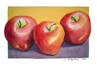 Three Apples, Kathleen Swaydan