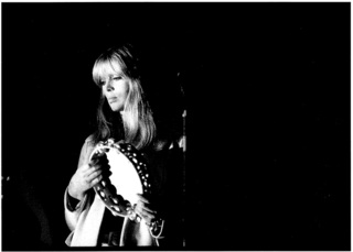 Nico on stage with Velvet Underground, The Trip, L.A. , Lisa Law