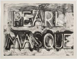 Pearl Masque, Bruce Nauman