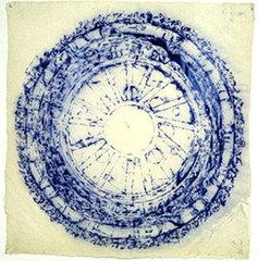 Mind Field Series - Like Lace (Dharmarajika & Yama Mandala), Arlene Shechet
