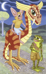 The Night Riders, Matt Furie