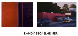 "left: ""Nobody Said Anything"" (diptych), , n.d., oil on canvas, 2 - 90"" x 50"", Randy Beckelheimer"