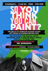 "So you think you can Paint?"", artists open call"