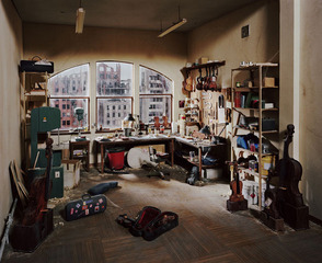 Violin Repair Shop,Lori Nix