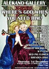 God Show Flyer,