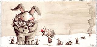 Bunny hugger,