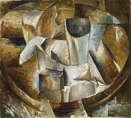 Glass on Table,Georges Braque