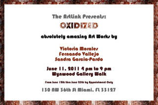 Oxidized Art Show - May 2011,