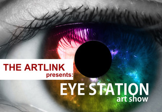 Eye Station Art Show - Postcard,