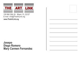 Fusion Art Show - Postcard,