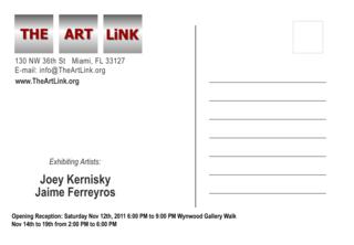 iVisions Art Show - Postcard,