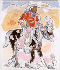 Bronze Cowboy, John Bankston