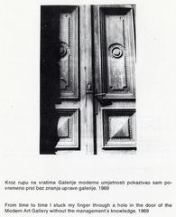 Zagreb: Galerija suvremene umjetnosti, Goran Trbuljak
