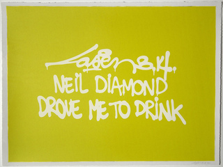Neil Diamond Drove Me To Drink,Laser 3.14